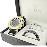 Ice King Watch 2 Removable Bezel Included Gift Joe Rodeo Jojo Simulated Diamond