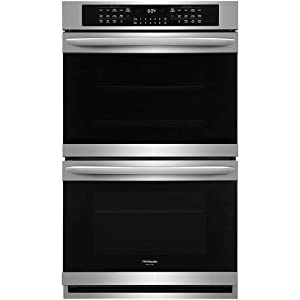 "Frigidaire Gallery 30"" Smudge-Proof Stainless Steel Double Electric Wall Oven"