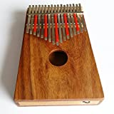 HUGH TRACEY Acoustic-Electric 17-Note TREBLE DIATONIC BOX Kalimba - KBT017E Model