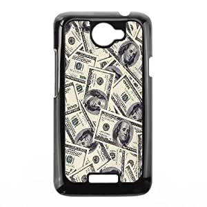 100 dollar bill HTC One X Cell Phone Case Black JD7696952