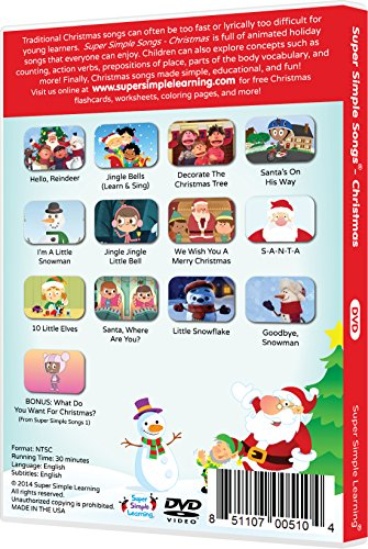 Super Simple Songs - Christmas DVD | DVD in the UAE. See prices ...