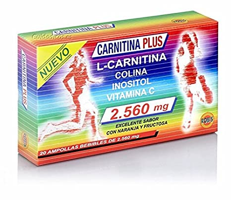 Carnitina Plus 20 ampollas de Robis