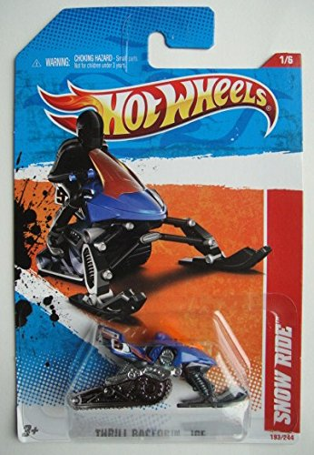 Used, Hot Wheels THRILL RACERS ICE, BLUE SNOW RIDE 1/6 for sale  Delivered anywhere in USA