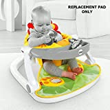 Replacement Parts for Fisher-Price Deluxe Sit-Me-Up Floor Seat CBV48 - Includes Lion Pad