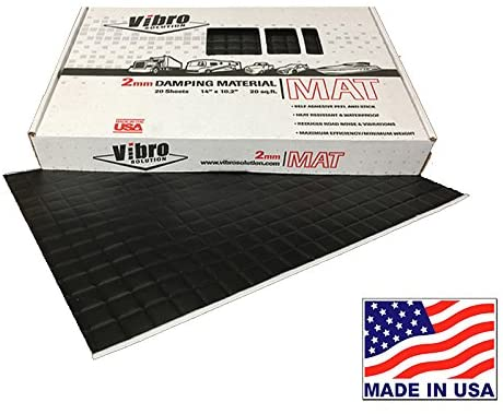 Vibro Black Sound Deadening Mat