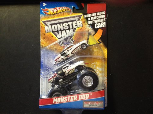 Monster Jam Monster Duo Monster Mutt by Hot Wheels