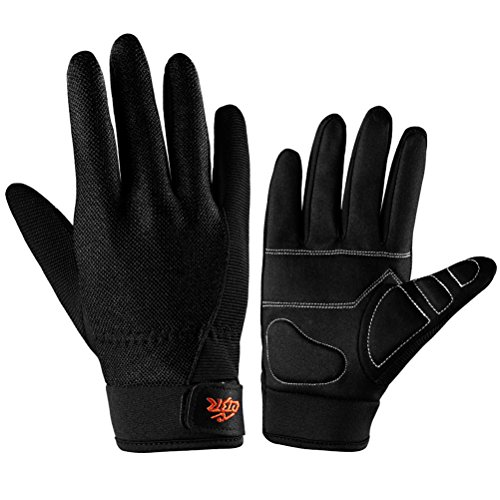 CBR Unisex Cycling Full Finger Gloves Anti-skid Outdoor Mountaineering Fitness Riding gloves ()