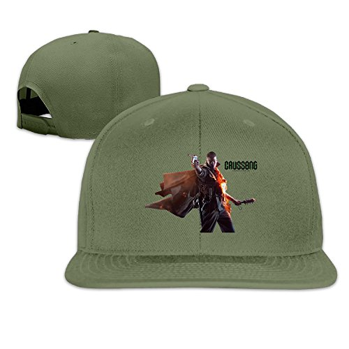 Price comparison product image Male / Female Battlefield 1 Soldier Render Cotton Flat Snapback Baseball Caps Adjustable Mesh Hat Mesh Hats ForestGreen One Size Fits Most
