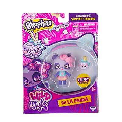 Shopkins S10 SHOPPETS Pack - Macaron Panda: Toys & Games