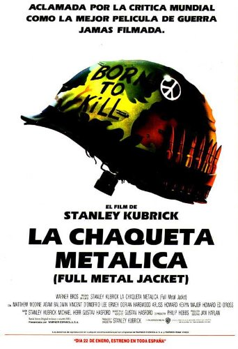 Full Metal Jacket Poster (11 x 17 Inches - 28cm x 44cm) (1987