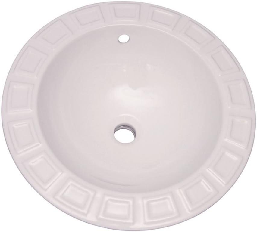 Barclay 4 705wh Palace Drop In Wash Basin Bathroom Sinks Amazon Com