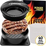 Mountain Grillers Burger Press Patty Burger Maker - Non Stick Hamburger Mold Kit