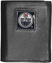 Siskiyou Sports HTRN90 NHL Edmonton Oilers Genuine Leather Tri-Fold Wallet