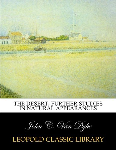 Download The desert: further studies in natural appearances pdf epub