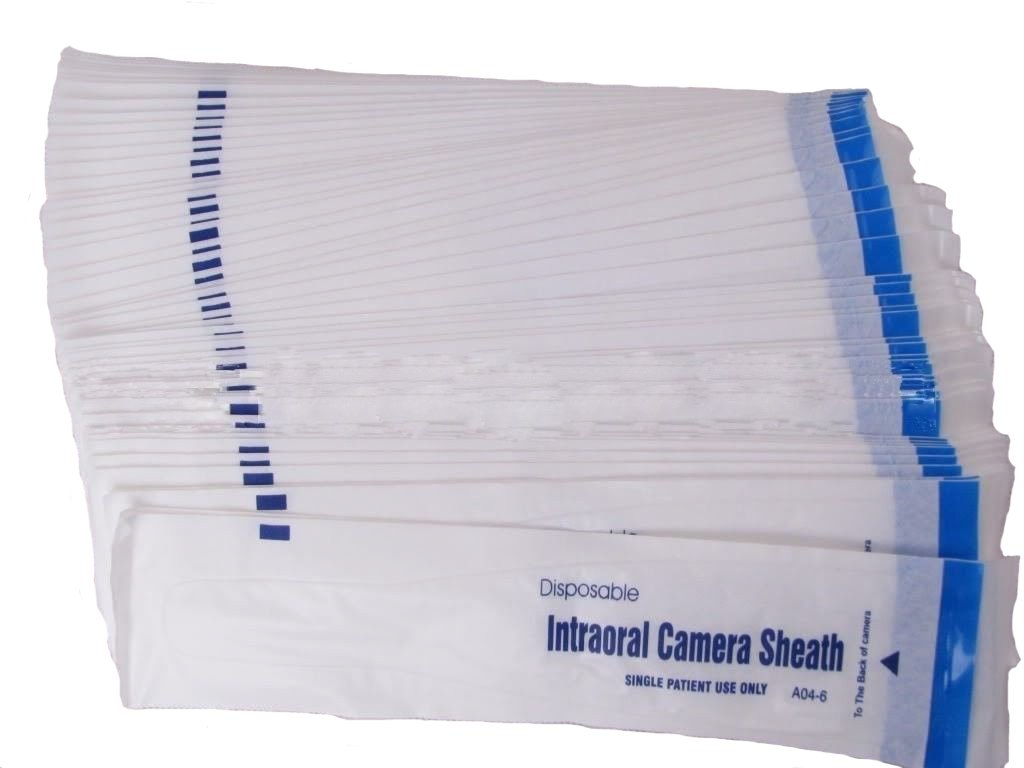 Prodent 600 Piece of Dental Intraoral Camera Sheaths,covers,sleeves Disposable Single Use by ProDENT