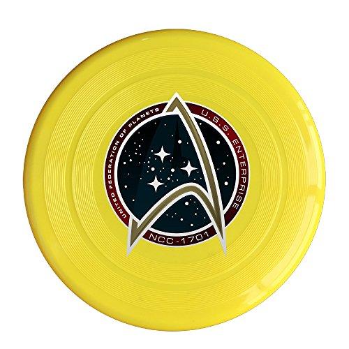 NUBIA United Federation Symbol 150 Gram Ultimate Sport Disc Frisbee Yellow