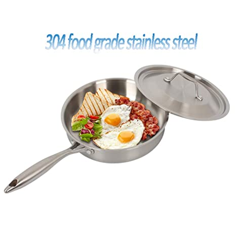 MAIFENGLE Sartén Sartenes Antiadherentes Induccion,Sartén de 24 cm para Todo Tipo de cocinas Incluido
