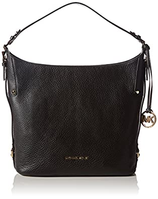 MICHAEL Michael Kors Bedford Belted Large Shoulder Bag (Black ...