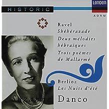 Suzanne Danco sings Sheherazade, 2 Hebrew Songs, 3 Poems of Mallarme; Berlioz Les Nuits D'Ete (London)