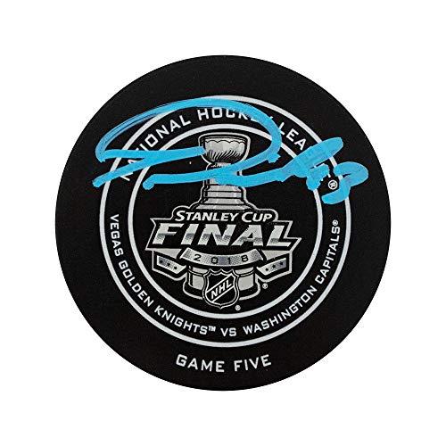 Tom Wilson Autographed 2018 Stanley Cup Finals Hockey Puck - Fanatics (Autographed Stanley Cup Hockey Puck)