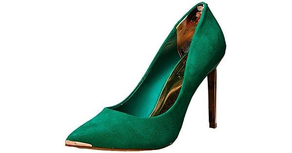 c3806f06e05 Ted Baker Women's Elvena, Green 8.5 M US: Amazon.com