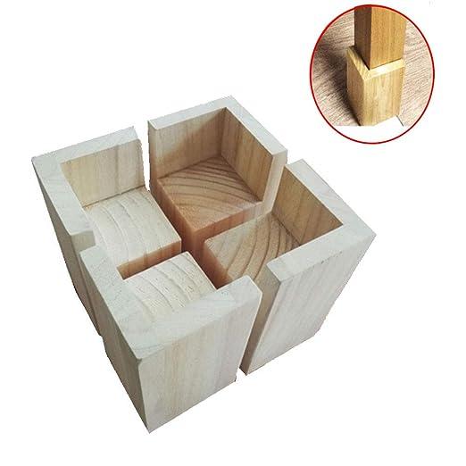 Furniture legs Elevador para Patas de Muebles, Cama, Altura ...