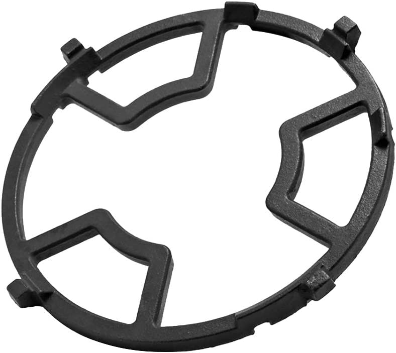 UPKOCH Wok Support Ring Cast Iron Stove Rack Universal Pan Support for Gas Stove Hobs Cooker- Gas Stove Accessories