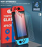 4 Pack Tempered Glass Screen Protector Compatible