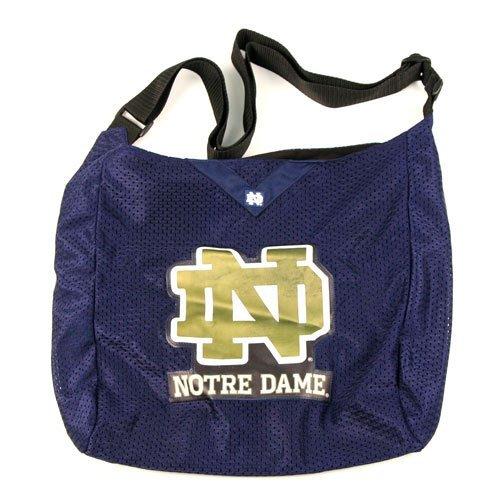(NCAA Notre Dame Fightin' Irish MVP Jersey Tote Bag Purse)