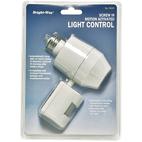 picture of BRIGHT-WAY 74239 Motion Activated Outdoor Light