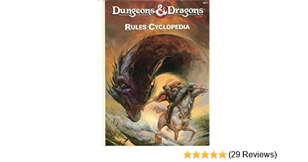 Dungeons And Dragons Rules Cyclopedia Aaron Allston 9781560760856