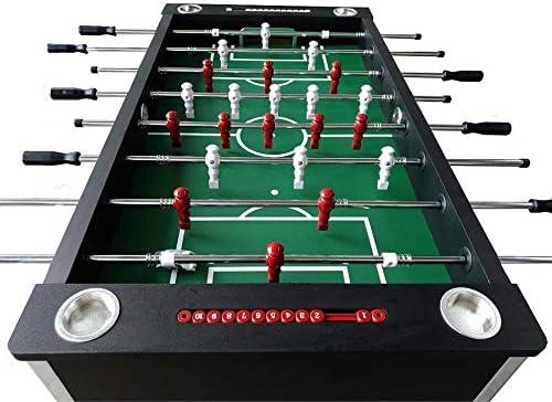 BuckShot Futbolín Master League Pro - Mesa De Futbol Incluyendo 2 ...