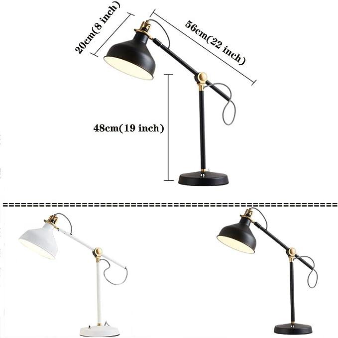 Metallo Lampada Da Tavolo, E27 5w Occhio Nightlight