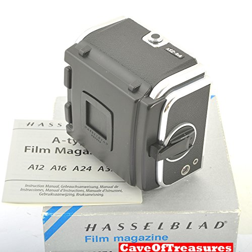 MINT IN BOX LATEST BLACK Hasselblad A12 Back,CLA Feb-2017,Ma