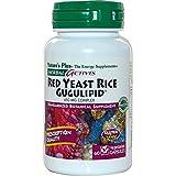 Nature's Plus, Herbal Actives, Red Yeast Rice Gugulipid, 60 Veggie Caps - 3PC