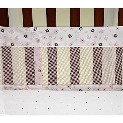 Nautica William Secure-Me Crib Liner Multi-Colored Crown Crafts Infant Products Inc 2171780