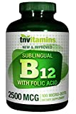 TNVitamins B-12 Sublingual Tabs 2500 Mcg – 100 Tablets Review