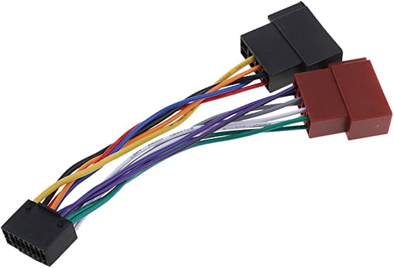 [SCHEMATICS_44OR]  Amazon.com: 16 PIN Car Stereo Radio Wiring Harness for Kenwood/JVC Adaptors  Cable Lead   Jvc Car Audio Wiring Harness      Amazon.com