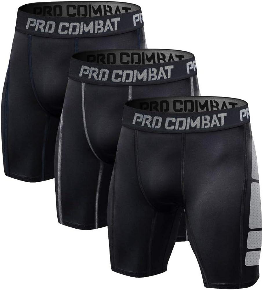 Details about  /Men Compression Shorts Athletic Tight Underwear Pants Legging Sport Gym Training