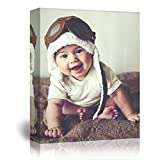 wall26 - Personalized Photo to Canvas Print Wall Art - Custom Your Photo On Canvas Wall Art - Digitally Printed - 16' x 20'