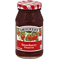 Smucker's Strawberry Preserves, 12-Ounce (Pack of 6)