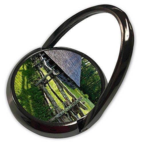 3dRose Danita Delimont - Barns - Wooden barn, Great Smokies, North Carolina, USA - US34 BJY0019 - Jaynes Gallery - Phone Ring (Smokies Fence)