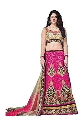 PCC Indian Women Party wear Designer pink Lehenga Choli