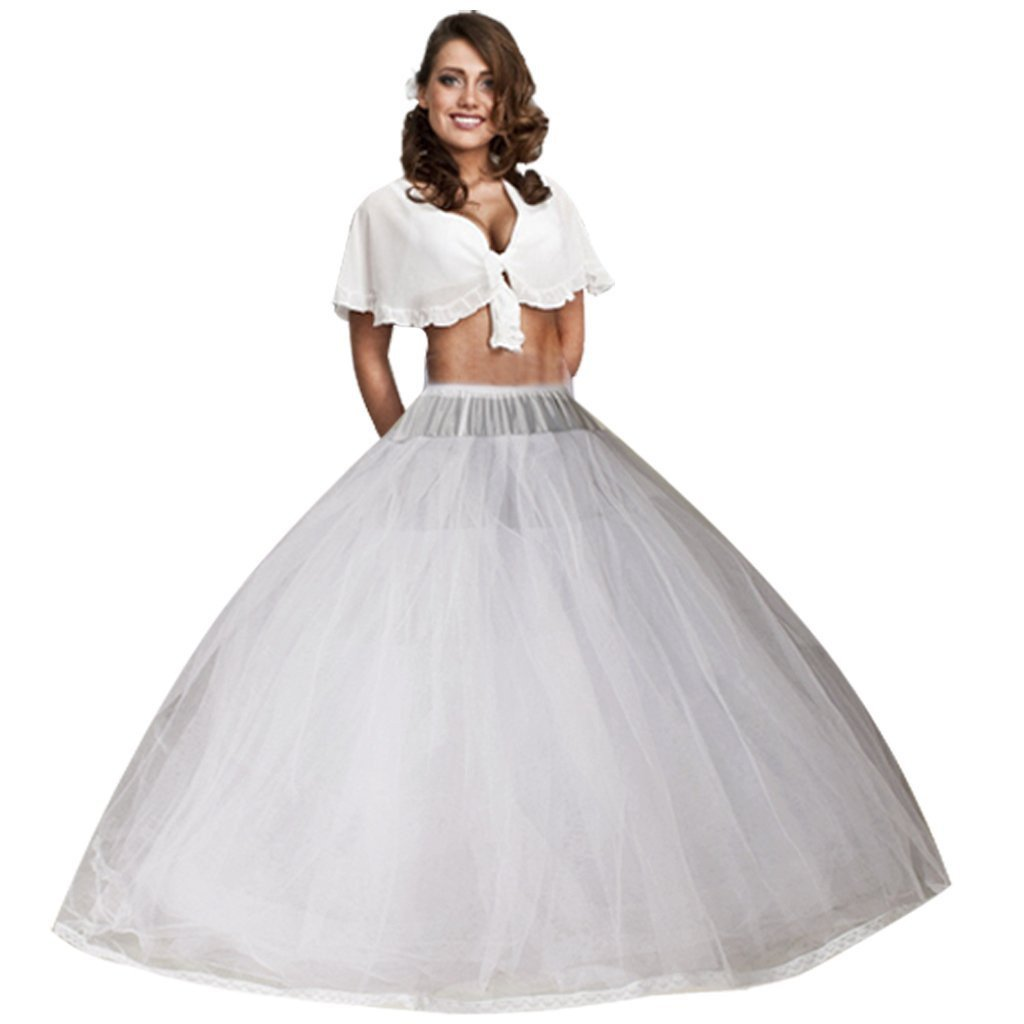 3474122a2 Style: (Without Hoops,Only 8 layers of yarn). A-line tulle petticoat, a  better shape for the fullness. Nyeutho1950s style underskirt is the perfect  ...