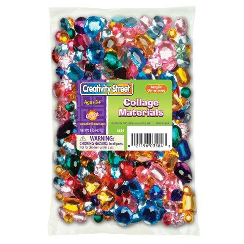 Chenille Kraft Acrylic Gemstones Bonus (Kraft Acrylic)