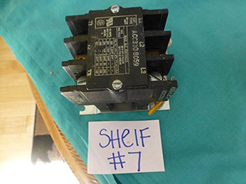 acc330 8059 arrow hart motor contactor 40 amps 600 vac model A from Generic