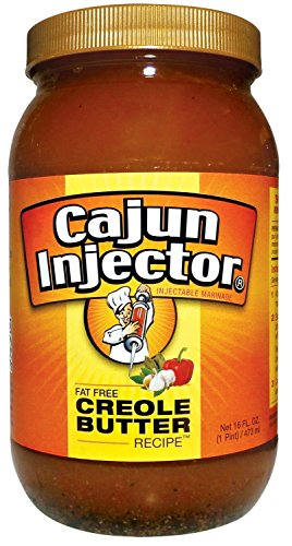Cajun Injector Injectable Marinade Refill 16oz (Pack of 3) (Creole (Creole Garlic Marinade)
