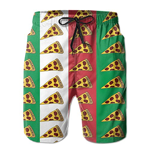 italian flag swim trunks - 6