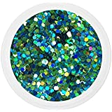 Dots mix LAGON nail art 10 grs grosses paillettes manucure ongles gel uv french