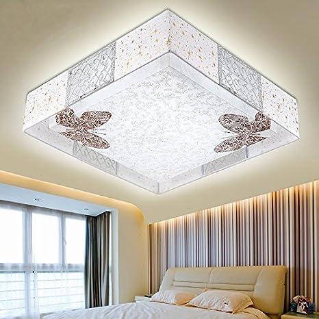 Lzhing Ikea Koreanischen Warme Schlafzimmer Led Lichtdecke Leuchten Energiespar Haus Platz Madchen Zimmer Lampen Gelbe Licht 5w Led Birne Amazon De Beleuchtung